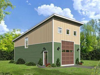 Best 25 garage plans with loft ideas on pinterest for Modern garage plans with loft