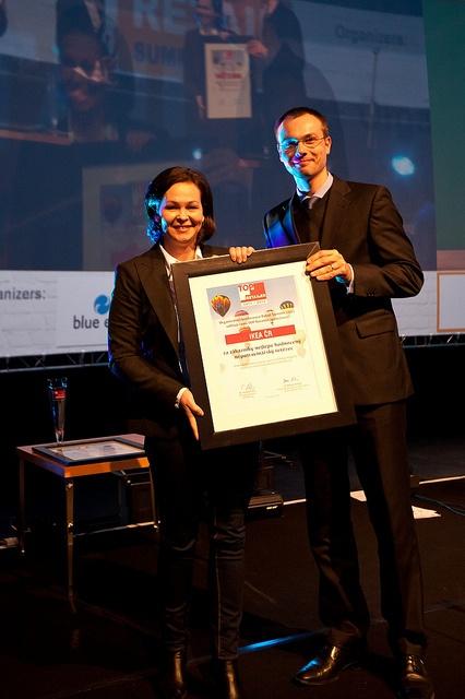 IKEA ČR získala na Retail Summit 2012 cenu Top Retailer za zákazníky nejlépe hodnocený nepotavinářský řetězec