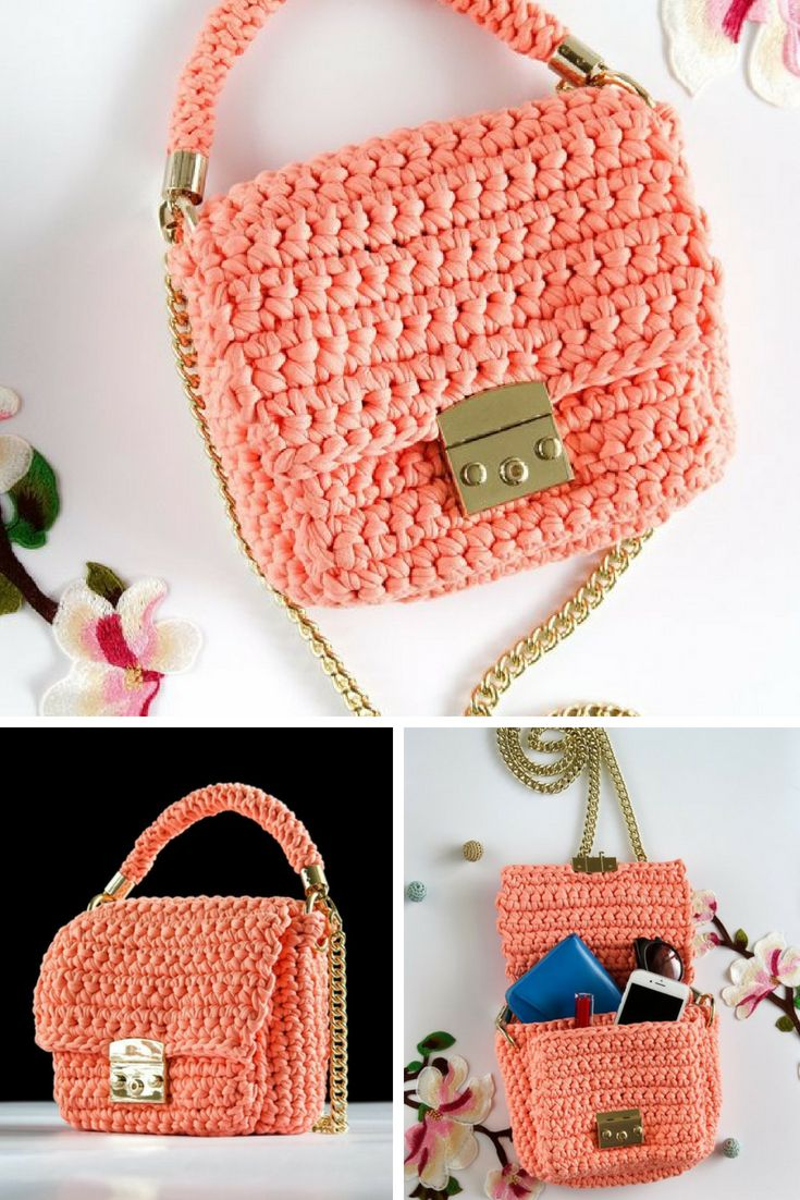 hooks for purses on wall.htm handmade exclusive crocheted handbag peach cotton yarn with gold  crocheted handbag peach cotton yarn