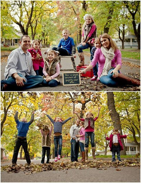 Blended Family Photo