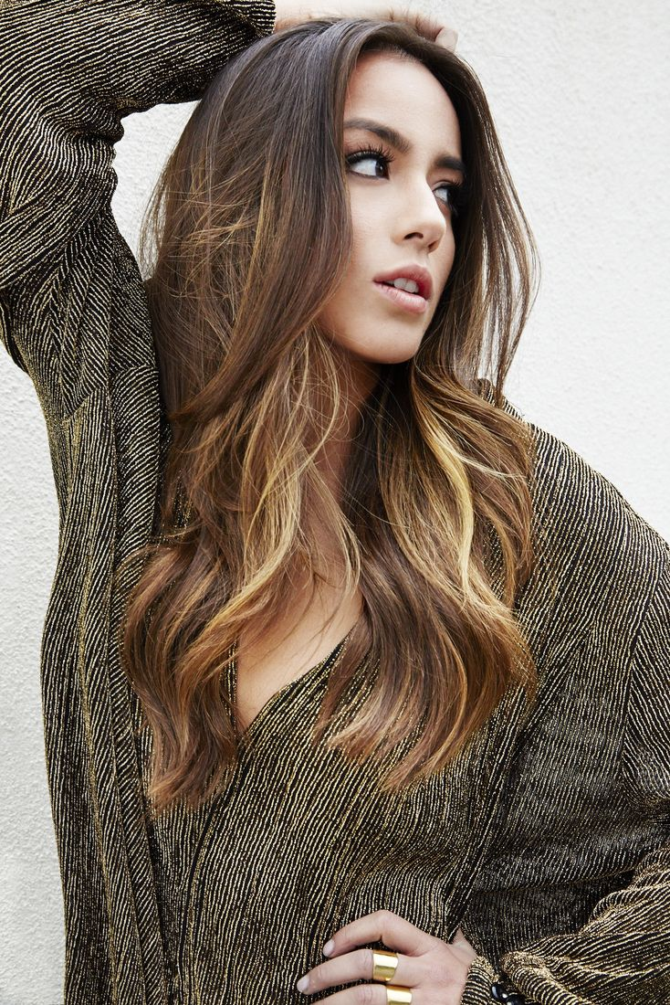 Just finished watching season one of Agents of S.H.I.E.L.D. Chloe Bennet is so beautiful.