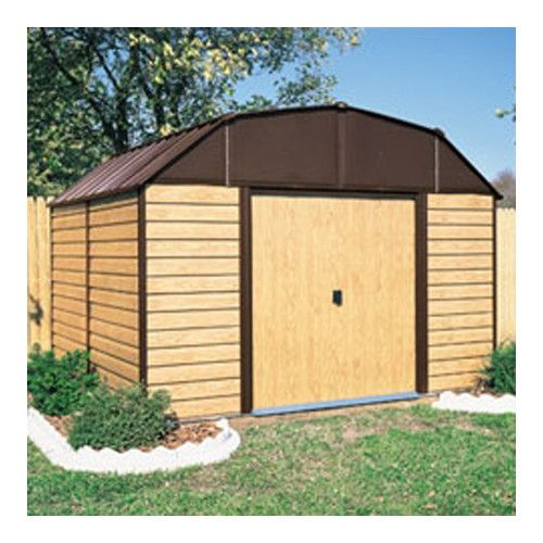 Found it at Wayfair - Woodhaven 10 Ft. W x 14 Ft. D Metal Storage Shed