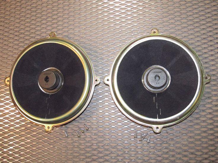 04 05 06 07 08 Mazda RX8 OEM Front Bose Woofer Speaker - Set