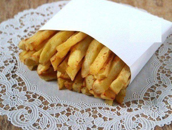 Приготовить картофель фри без масла - реально