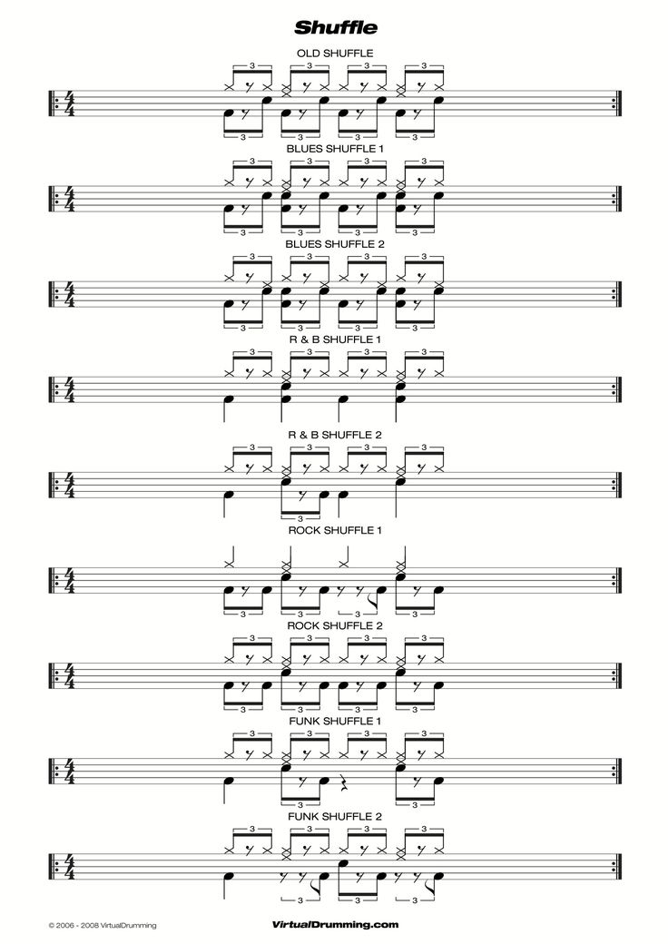 how to play drums pdf