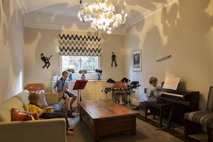 Alexandra Kidd Design Lord Street Project Music Room