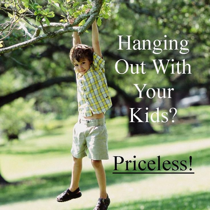 A VERIFIED LINK:  Hanging Out With Your Kids? Priceless!  |  Wishes Messages Sayings