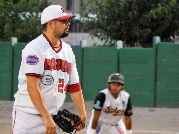 """Con sólo tres jornadas para concluir la temporada regular """"Jesús Salvador 'El Bambino' Avilés López"""" de la Liga Estatal de Béisbol 2017, son Rojos..."""