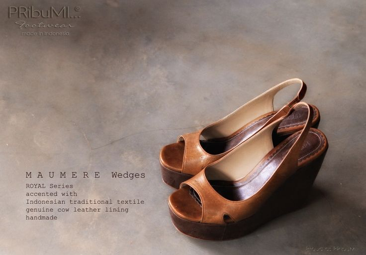 MAUMERE Wedges ROYAL Series by PRibuMI...