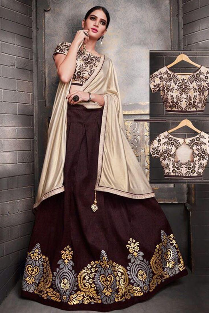 83c698b4ba2a77 Download Latest Beautiful Indian Lehenga Designs 2018-2019 Images New  Lehenga Design, Lehenga Designs