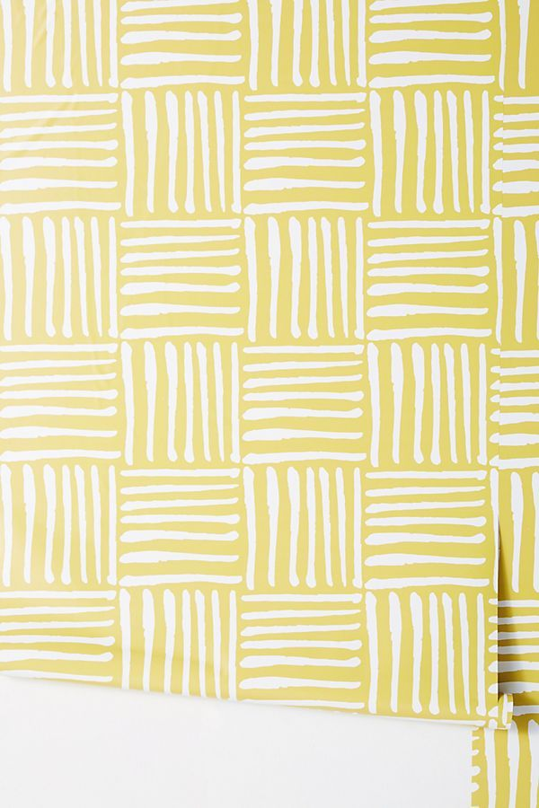 Hatch Wallpaper By Mitchell Black In Blue Wall Decor At
