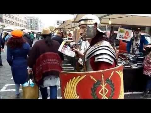 Nationale Archeologiedagen Rotterdam 17 oktober 2015 - YouTube