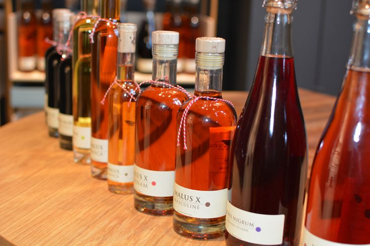 Cold Hand Winery display