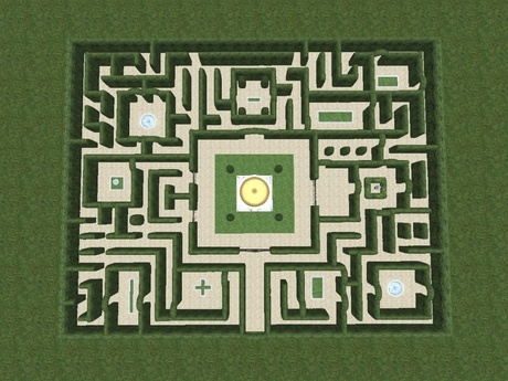 Garden Labyrinth Designs Easy on simple labyrinth design, easy prayer labyrinth designs, outdoor labyrinth design,