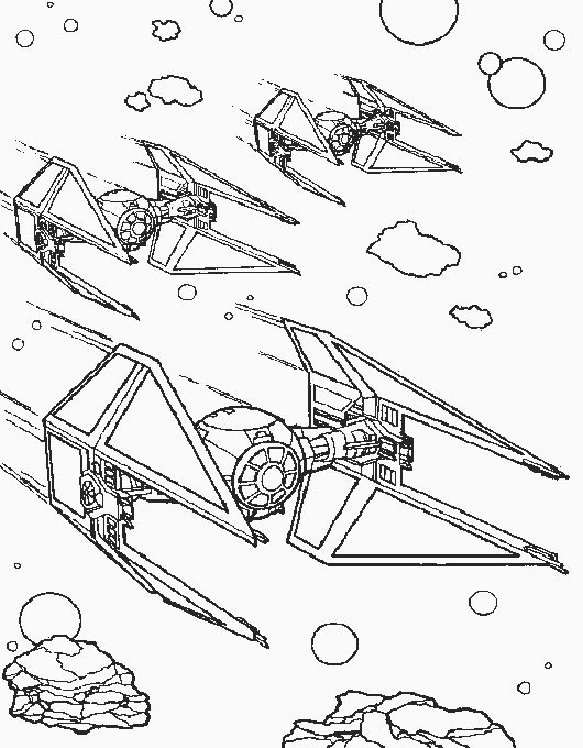Star Wars Coloring Pages for Kids- Free Printable Coloring Sheets