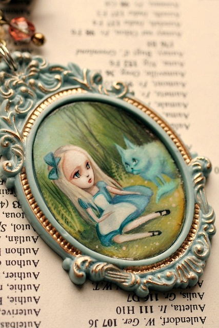 Alice in Wonderland cameo by Mab Graves