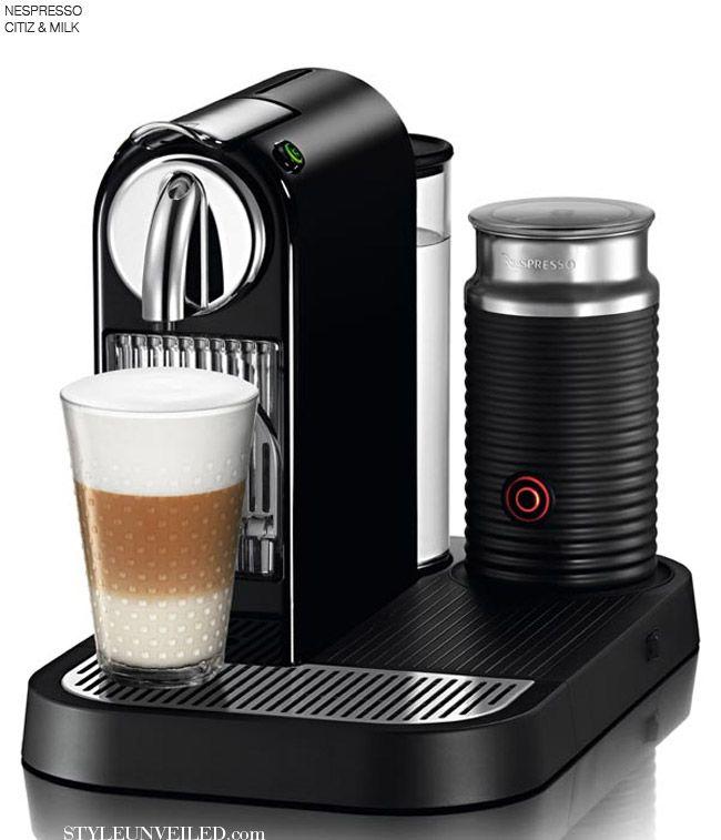 Nespresso make excellent espresso coffee machines which