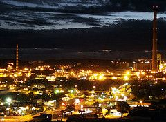 Mt Isa by night