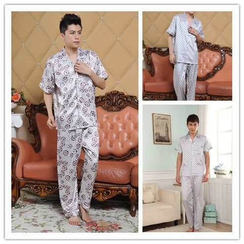 Find More Information about 2015 Summer cartoon pajamas for men  hot  sale Quality Nobility mens pajamas sleepwear Short Sleeve men silk pajamas Sets,High Quality lounge meaning,China lounge furnitur Suppliers, Cheap lounge chair for reading from Wendy_house on Aliexpress.com