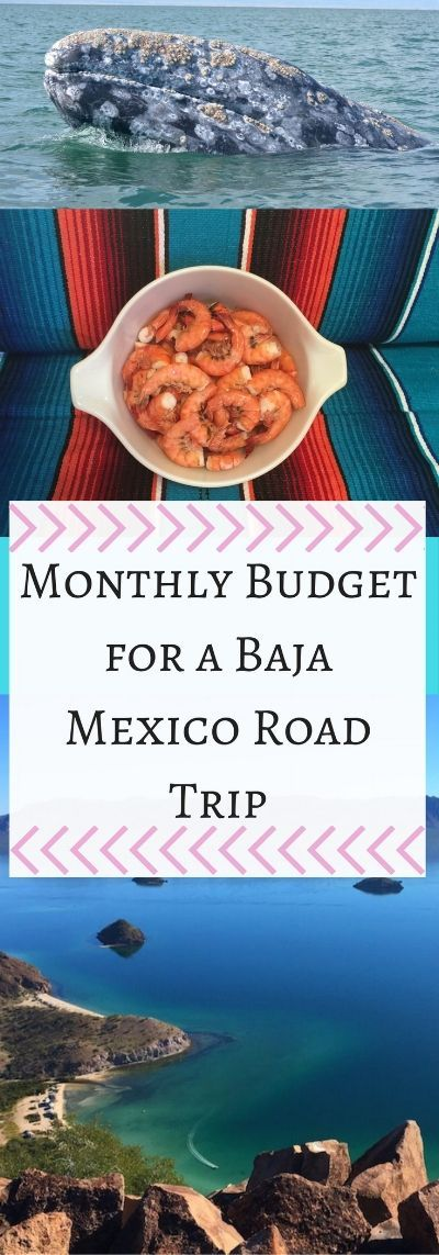 Baja, Mexico: An Affordable Paradise. Monthly Budget for a Baja Mexico road trip. Traveling Baja Mexico beaches by camper. Baja Mexico in an RV— The Rolling Pack #baja #mexico #mexicotravel #mexicobeaches #rvlife #camperlife #campertravel #rvtravel #rvbudget #mexicoroadtrip #bajaroadtrip #budgettravel