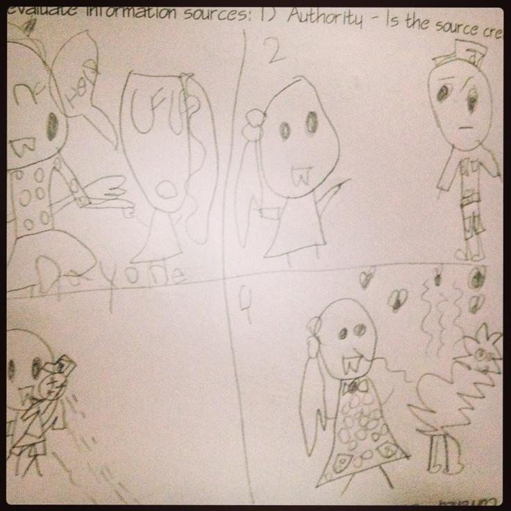A Comic Sample by MiaPetra (Age 5)