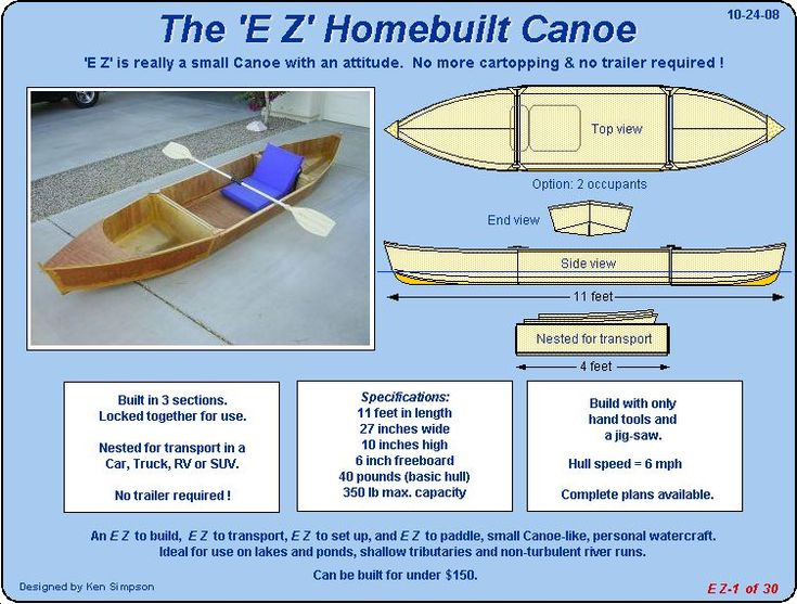 ... Boat Plans on Pinterest | Plywood Boat, Wooden Boat Plans and Plywood