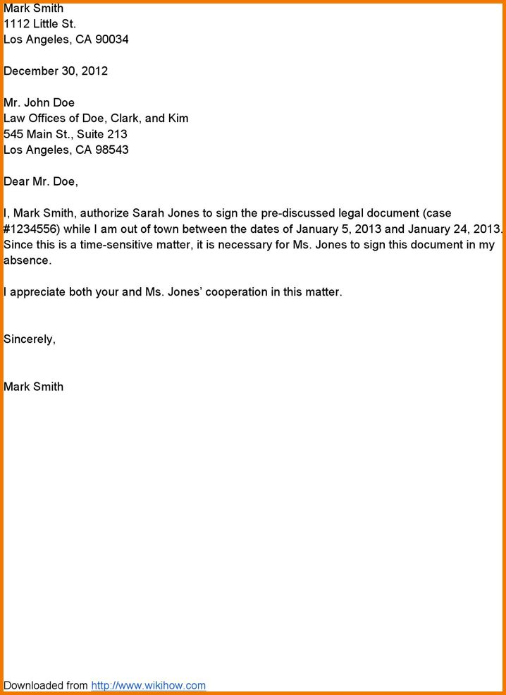 authorization letter format for dewa writing an authorization letter with exle authorization