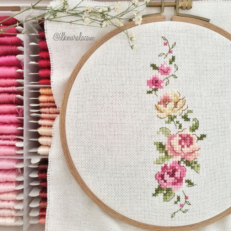 Cross stitch pattern I think is one of the best and it's so pretty