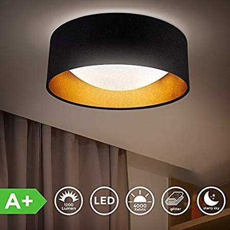 Hengda 48W Deckenlampe LED Deckenleuchte Dimmbar