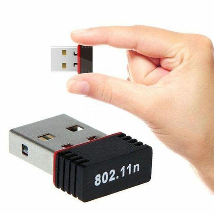 Hot Merek Wireless 150 Mbps USB Adapter WiFi 802.11n 150 M Jaringan Lan Card 1.97