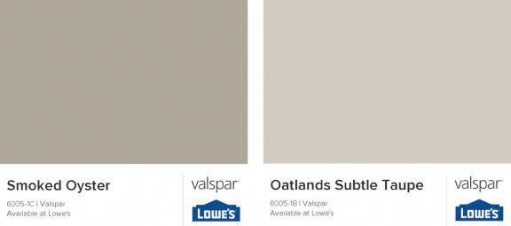 My Favorite Greige Paint Is Valspar S Smoked Oyster I Have This Color On All My Main Walls I Also Use Greige Paint Valspar Paint Colors Taupe Paint Colors