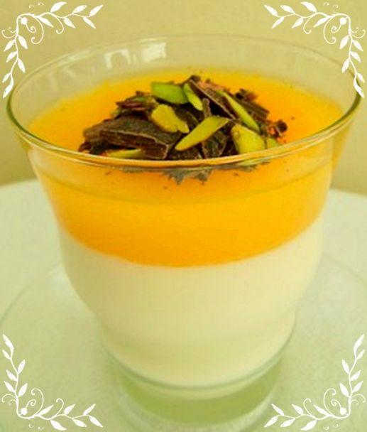 Portakallı Vanilyalı Kup