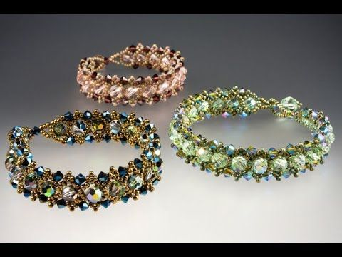 Parisian Lights Bracelet Tutorial - YouTube