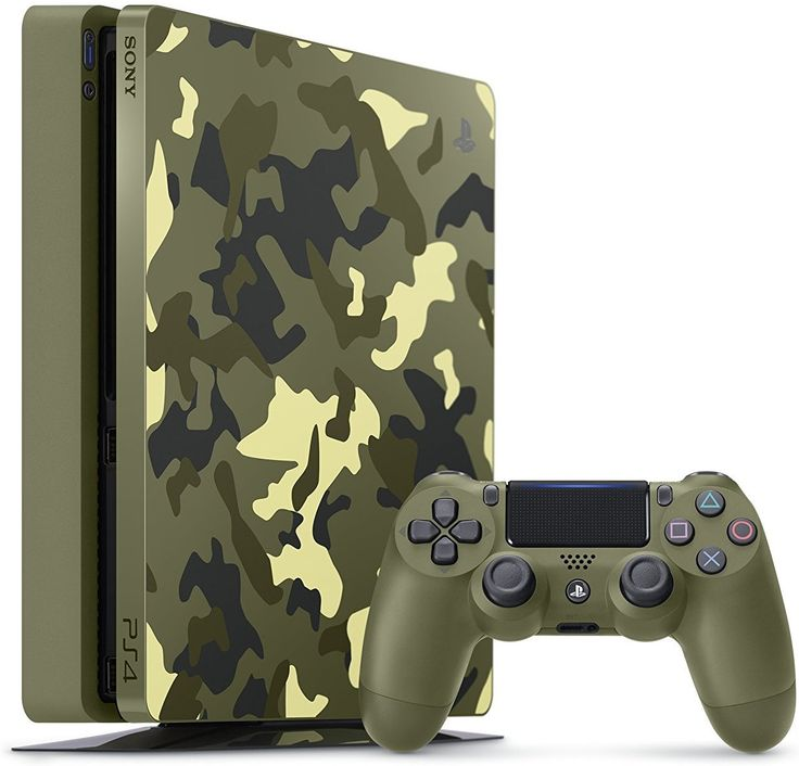 Sony PlayStation ... http://www.jnlgame.com/products/sony-playstation-4-slim-1tb-limited-edition-console-call-of-duty-wwii-bundle?utm_campaign=social_autopilot&utm_source=pin&utm_medium=pin