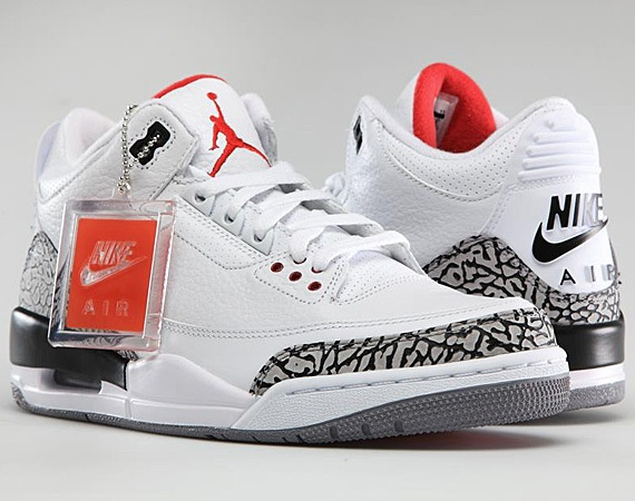 "The best shoe ever  AIR JORDAN III '88 NIKE AIR RETRO – ""WHITE CEMENT"" 