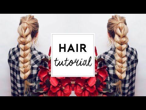 Pull Through Braid Hair Tutorial | Kassinka