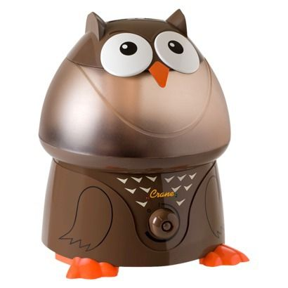 Crane Ultrasonic Cool Mist Humidifier- #Owl    Just ordered this little cutie! Got a great deal online at #Target