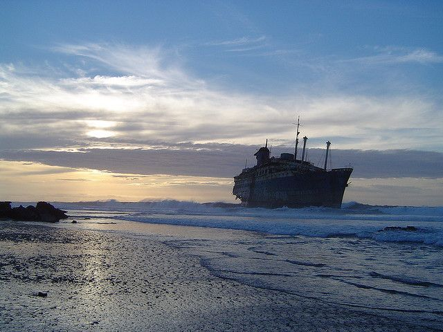 The Magnificent Wreck of SS American Star (Photos)