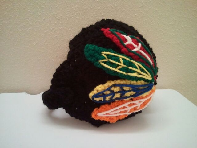 Baby Blackhawk Helmet NHL BLackhawks baby Shower by Dremnstar, $20.00