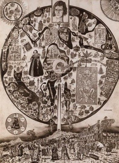 MAP OF NOWHERE, Grayson Perry | Artists | Collection | British Council − Visual Arts