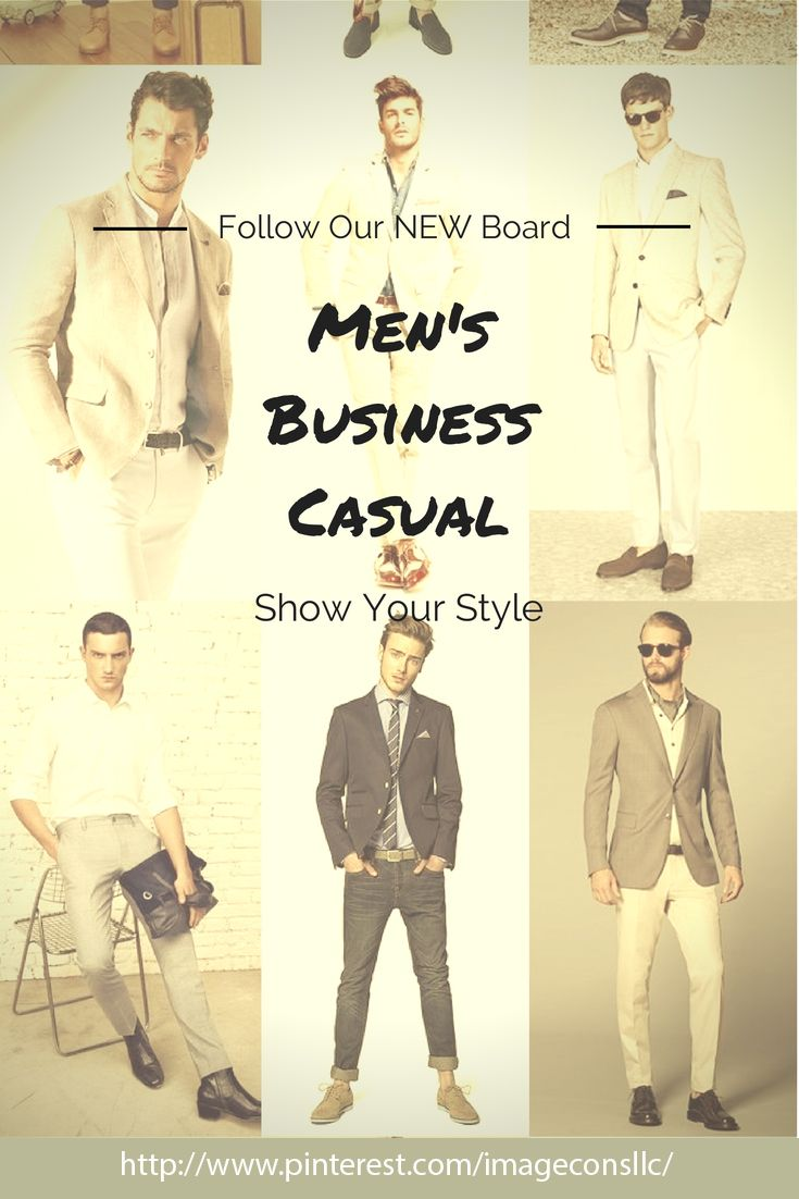 """Follow our new board, """"Men's Business Casual,"""" for inspiration and the latest lookbooks. http://www.pinterest.com/imageconsllc/mens-business-casual/  #mens #Business #Casual"""