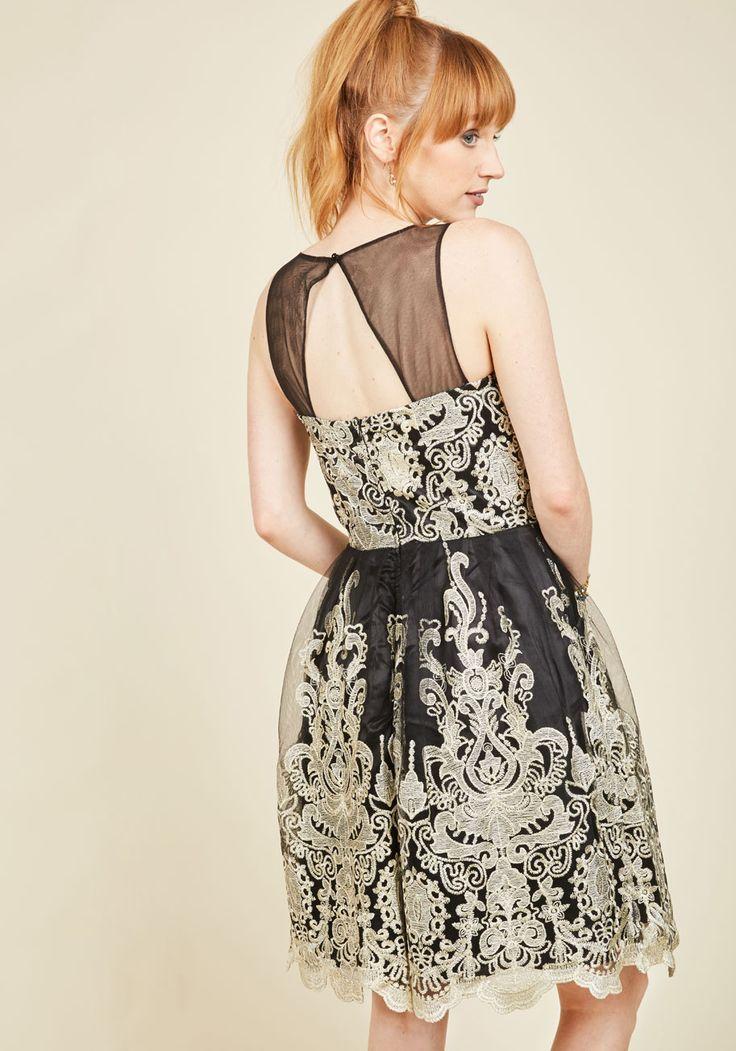Cocktail dress modcloth lace