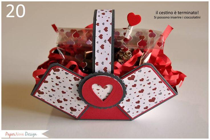 cestino fai da te per san valentino