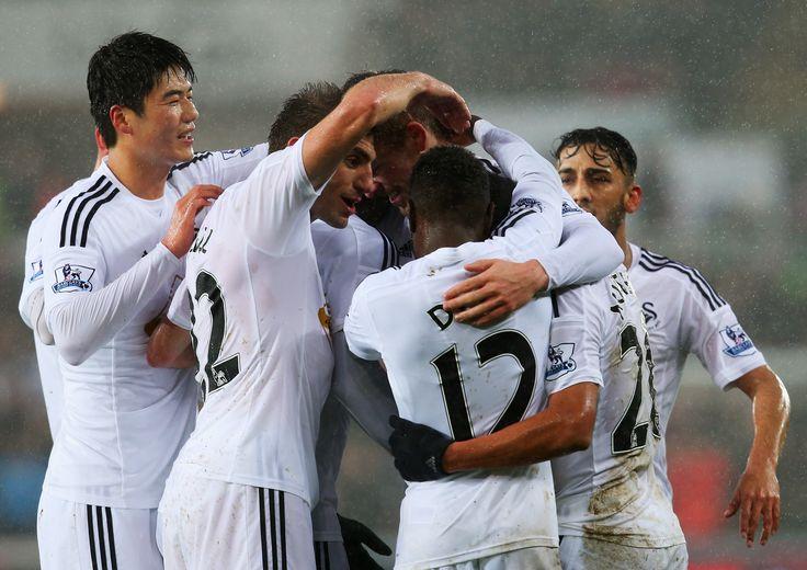 @Swansea the swans #9ine