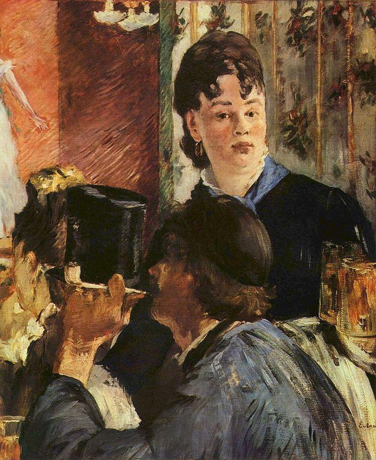 Edouard Manet - La Serveuse de bocks (1878-79) - Musée d'Orsay, Paris