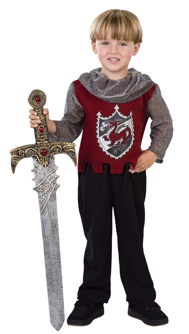 Knight costume for toddler
