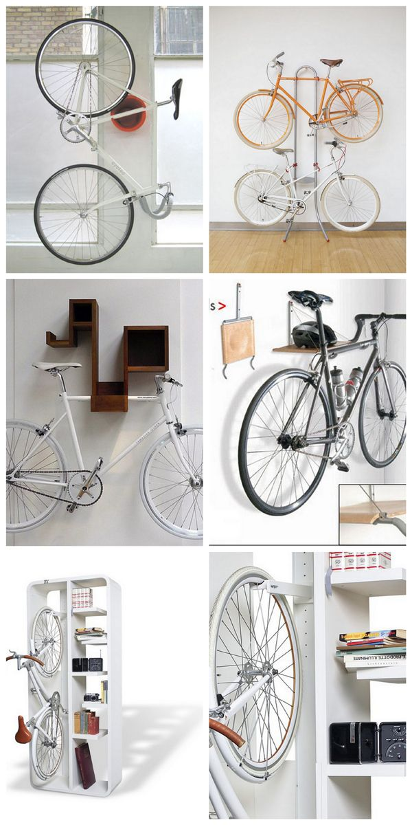 la bici en de almacenaje