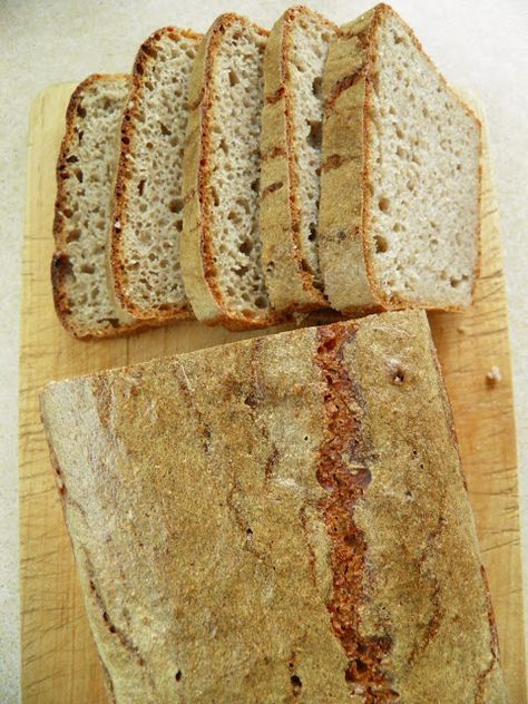 TERESA kolejny w kolejce do pieczenia  Sio-smutki: Ciemny chleb (pszenno - żytni) na zakwasie