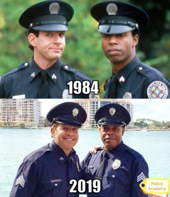 Do You Remember This Guys In 2021 Police Academy Very Funny Movies Young Celebrities