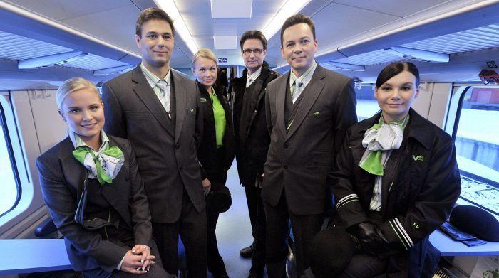 Finnish national railways newest uniforms presented